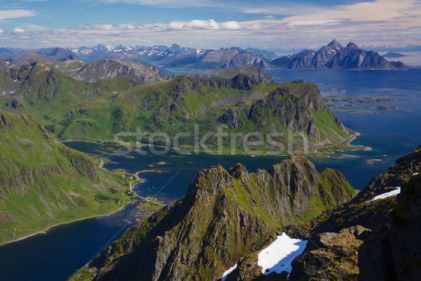 Norwegian coast Stock photo © Harlekino