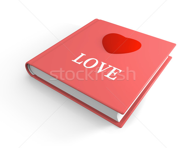 Book of love Stock photo © Harlekino
