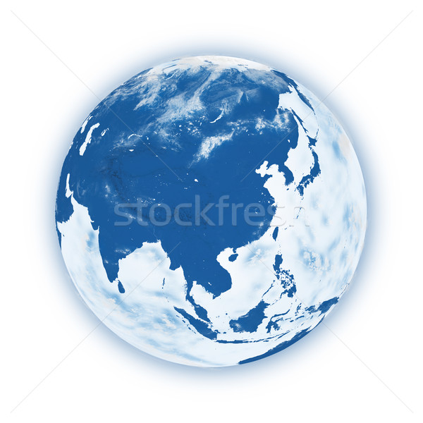 Southeast Asia on planet Earth Stock photo © Harlekino