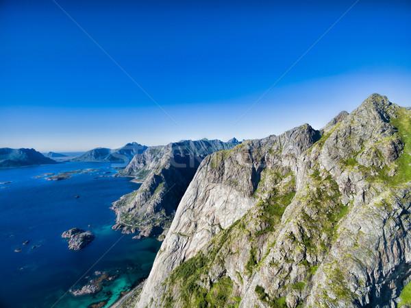 Peaks on Lofoten Stock photo © Harlekino