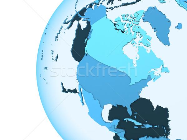 észak Amerika áttetsző Föld modell Föld Stock fotó © Harlekino
