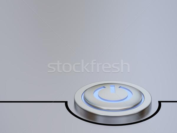 On off button Stock photo © Harlekino