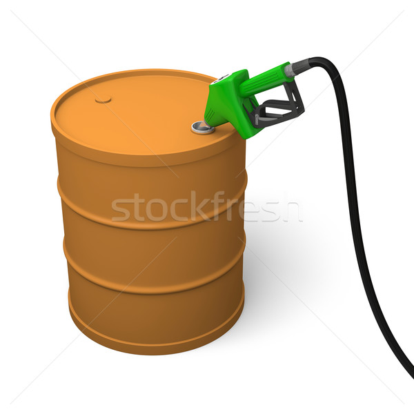 Petrol barrel Stock photo © Harlekino