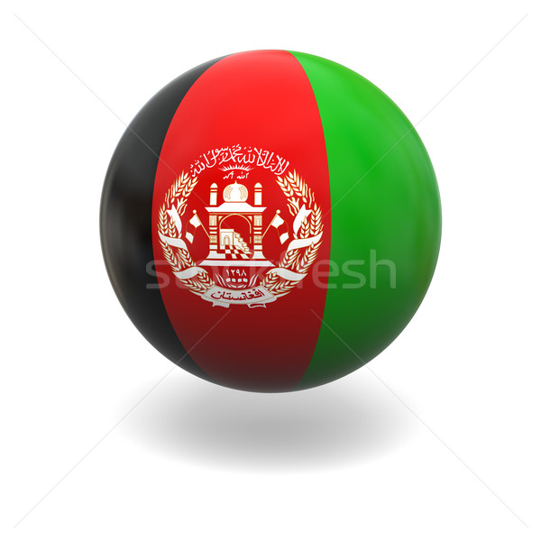 Afghanistan flag Stock photo © Harlekino
