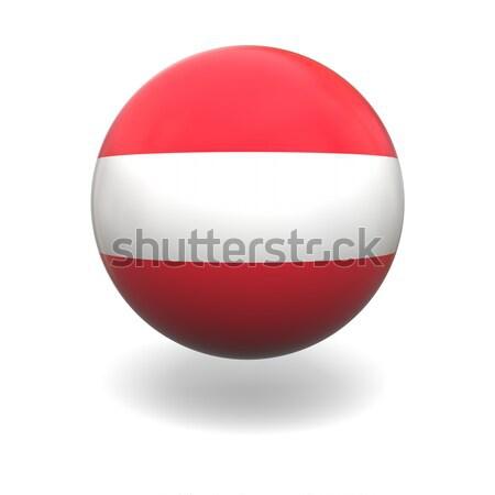 Austrian flag Stock photo © Harlekino