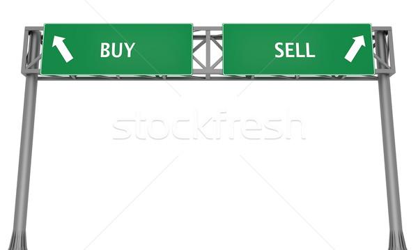 Buy or Sell Stock photo © Harlekino