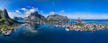 Lofoten panorama Stock photo © Harlekino