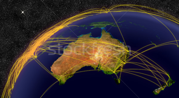 Air travel in Australia Stock photo © Harlekino