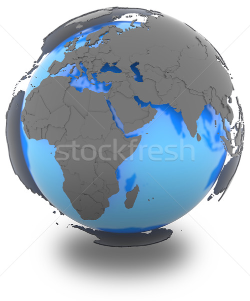 Western Hemisphere on Earth Stock photo © Harlekino