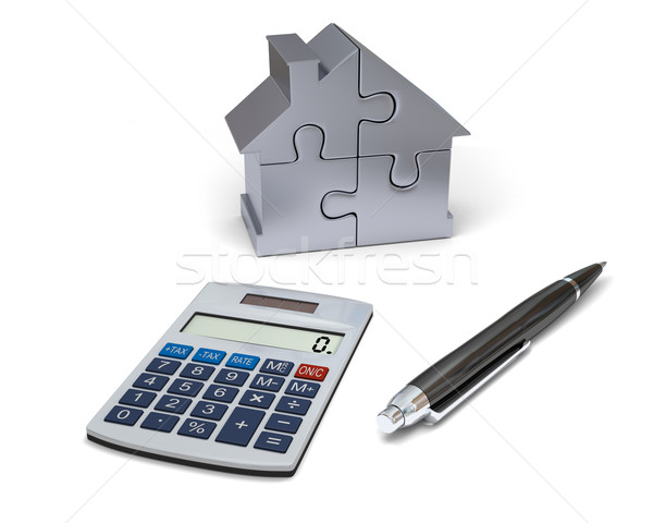 House financing Stock photo © Harlekino