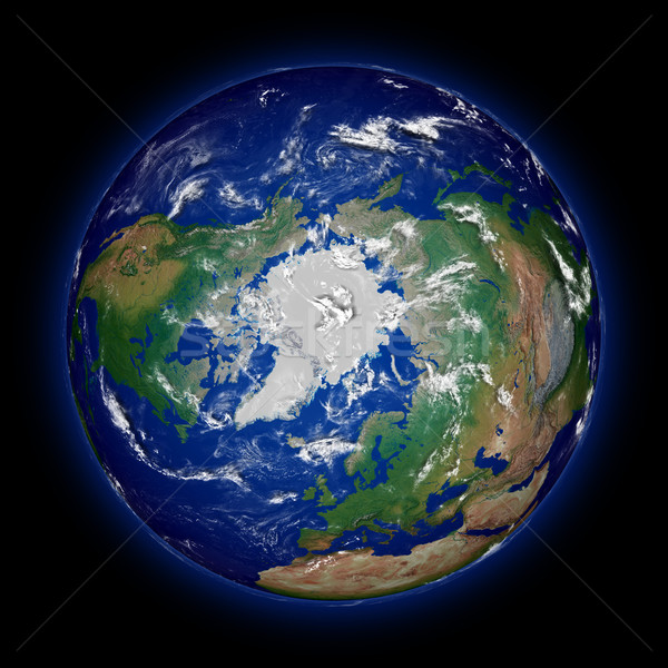Northern hemisphere Stock photo © Harlekino