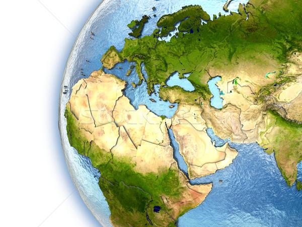 регион планете Земля Континенты стране Элементы Сток-фото © Harlekino