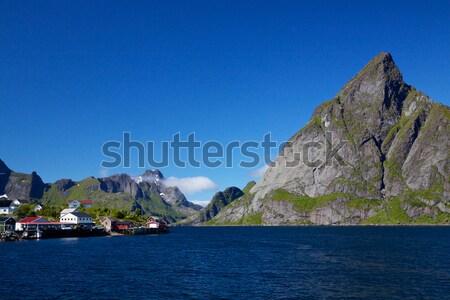 Picturesque Lofoten Stock photo © Harlekino