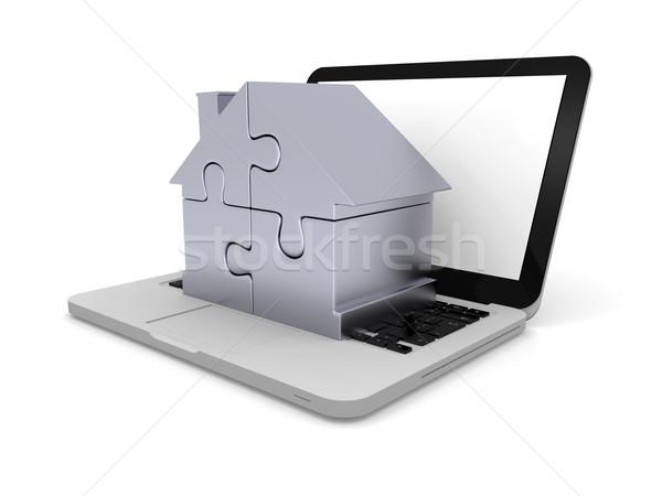 Maison portable maison symbole quatre photo - Maison portable ...