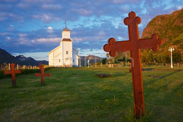 Scenic church Stock photo © Harlekino
