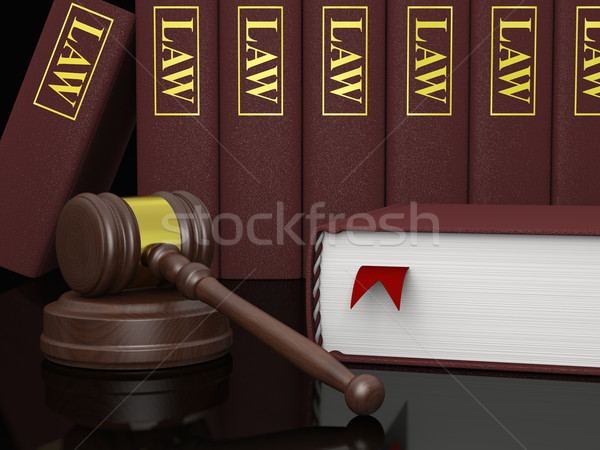 Legal literature Stock photo © Harlekino