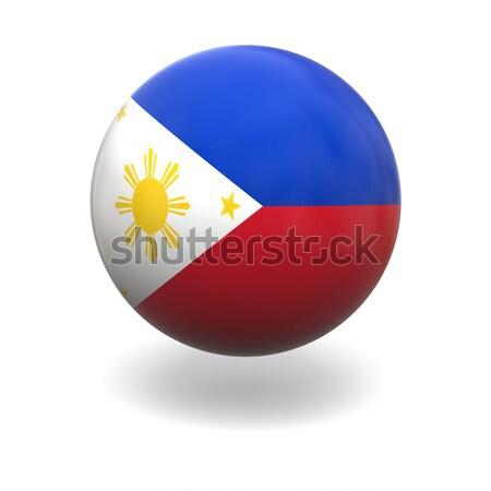 Philippines flag Stock photo © Harlekino