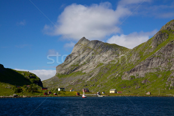 Fjord on Lofoten Stock photo © Harlekino