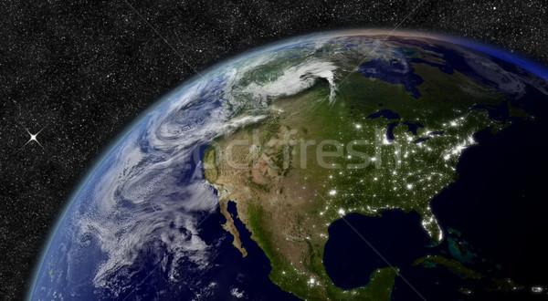 North America from space Stock photo © Harlekino