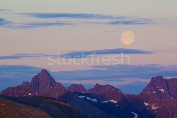 Full moon Stock photo © Harlekino