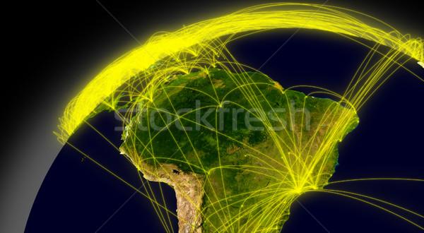 Южной Америке пространстве основной воздуха движения Сток-фото © Harlekino
