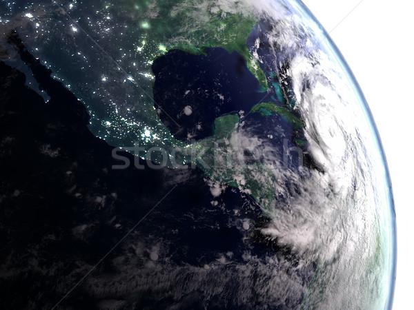 ураган город свет видимый Флорида Сток-фото © Harlekino
