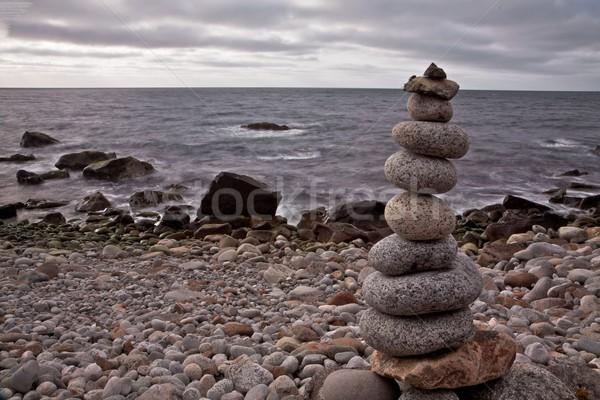 Stone statue Stock photo © Harlekino
