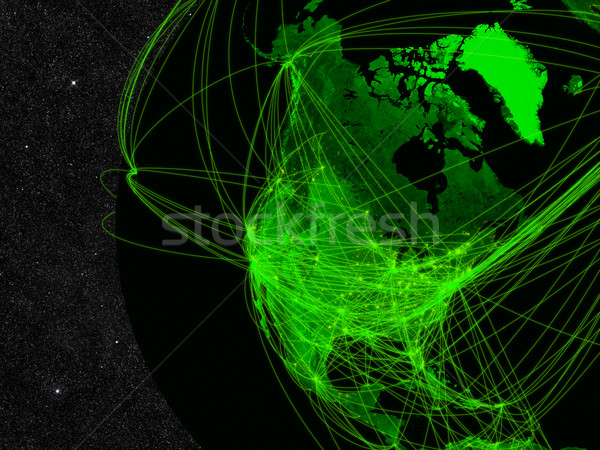 North America network Stock photo © Harlekino