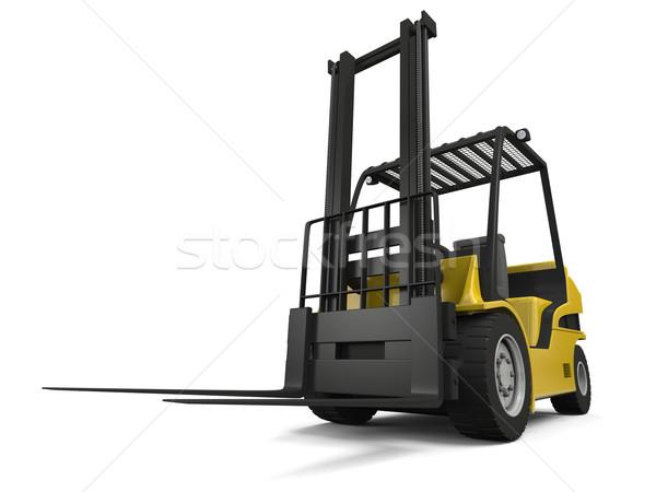 Forklift Stock photo © Harlekino