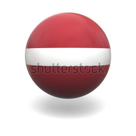 Latvian flag Stock photo © Harlekino