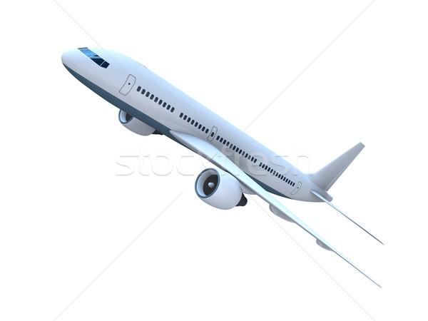 Jet airplane Stock photo © Harlekino