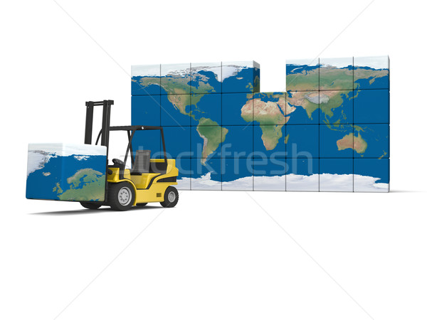 International logistics Stock photo © Harlekino