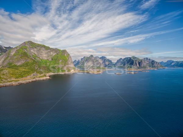 Scenico panorama Norvegia Foto d'archivio © Harlekino