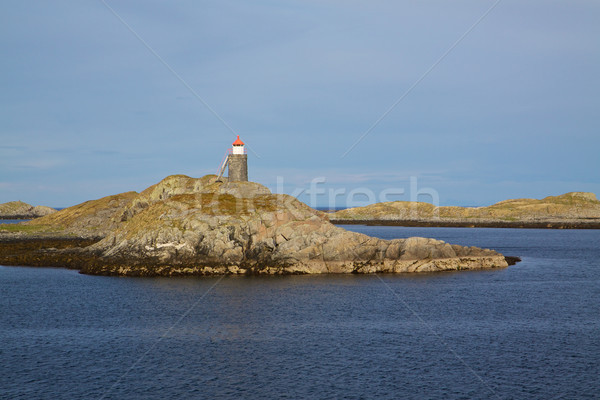 Small lighthouse Stock photo © Harlekino