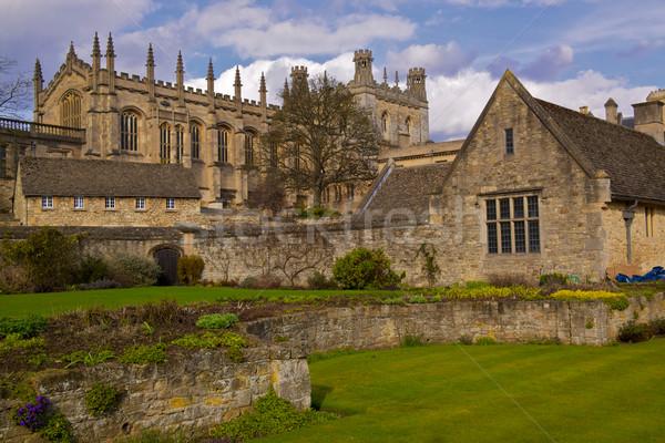 Stok fotoğraf: Mesih · kilise · kolej · oxford · İngiltere