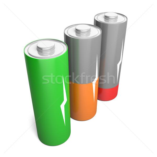 Battery charging Stock photo © Harlekino