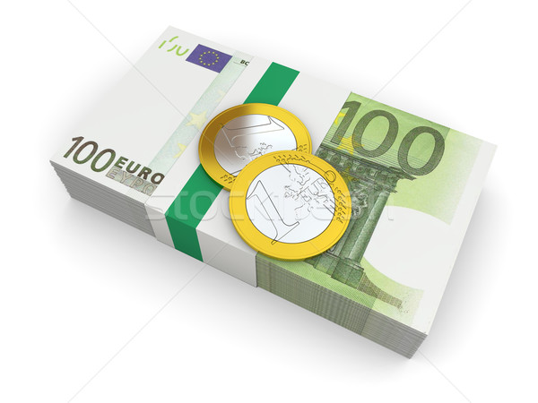 Euro currency Stock photo © Harlekino