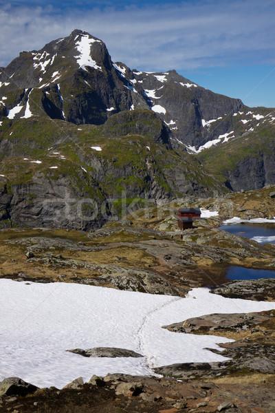 Highest peaks on Lofoten Stock photo © Harlekino