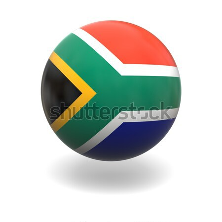 South Africa flag Stock photo © Harlekino
