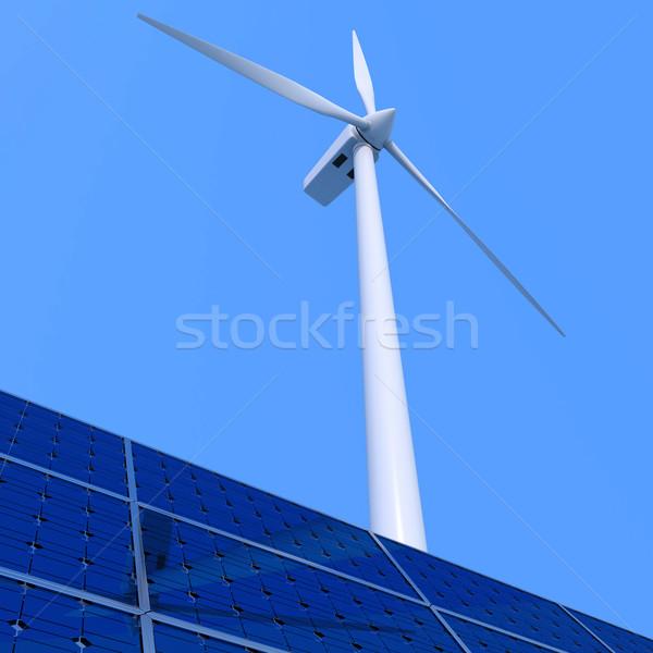 Alternative energy Stock photo © Harlekino
