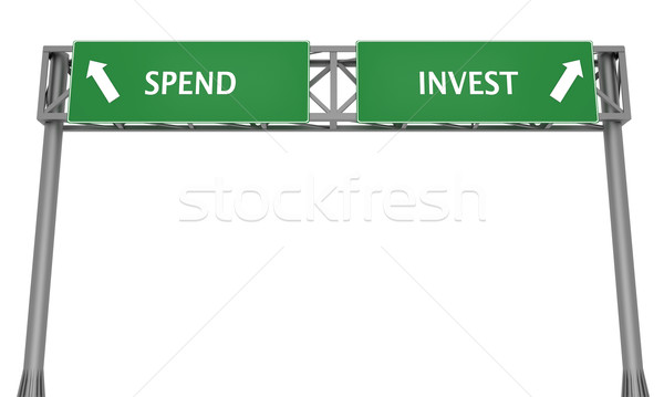Spend or Invest Stock photo © Harlekino