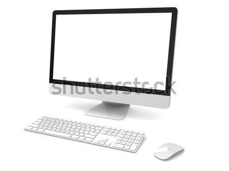 Desktop computer Stock photo © Harlekino