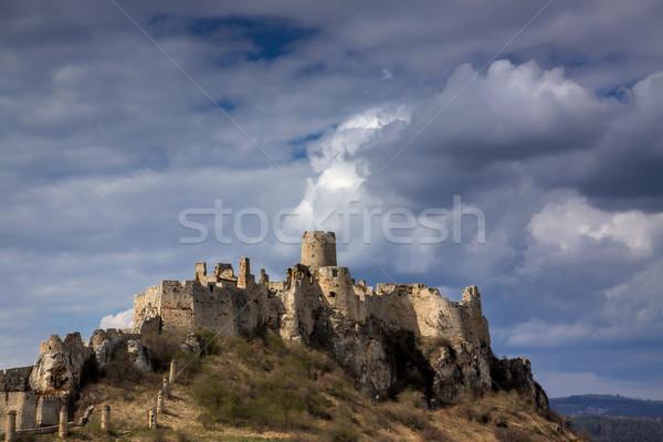 城 スロバキア 遺跡 中世 セントラル ストックフォト © Harlekino