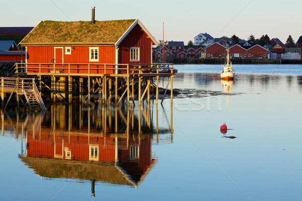 Fishing house Stock photo © Harlekino