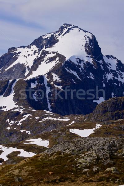 Rocky mountain Stock photo © Harlekino