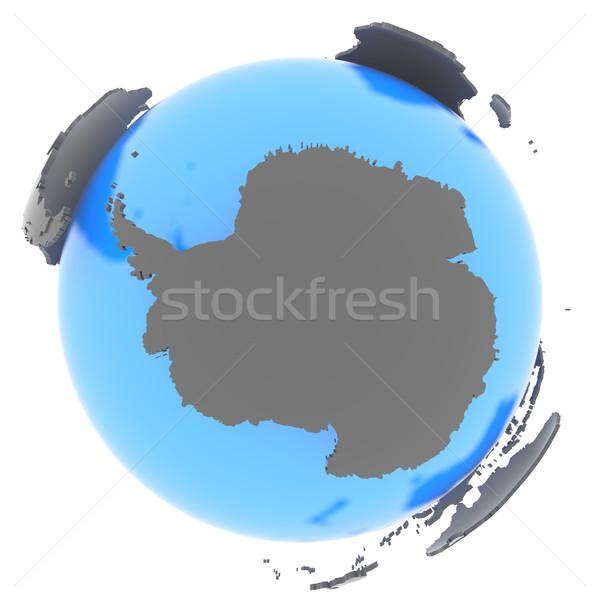 Antarctic on Earth Stock photo © Harlekino