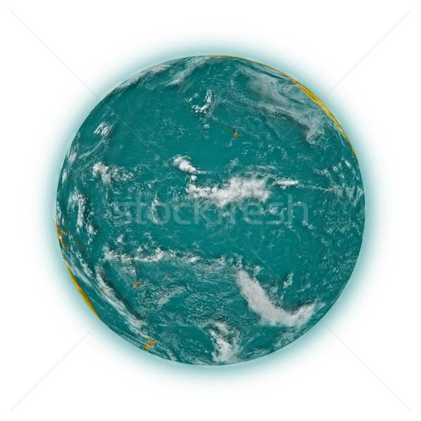 Pacific Ocean on planet Earth Stock photo © Harlekino