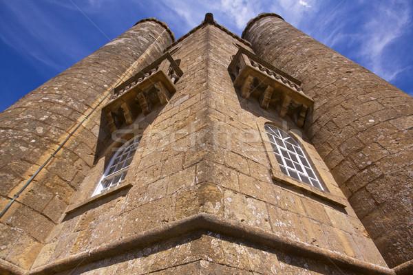 стен Бродвей башни подробность старые Англии Сток-фото © Harlekino