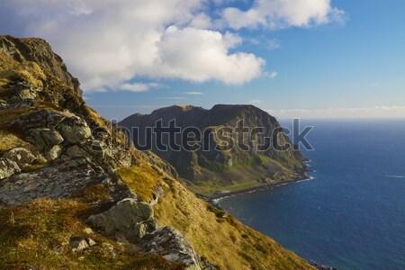 Stockfoto: Kust · schilderachtig · eiland · eilanden · Noorwegen