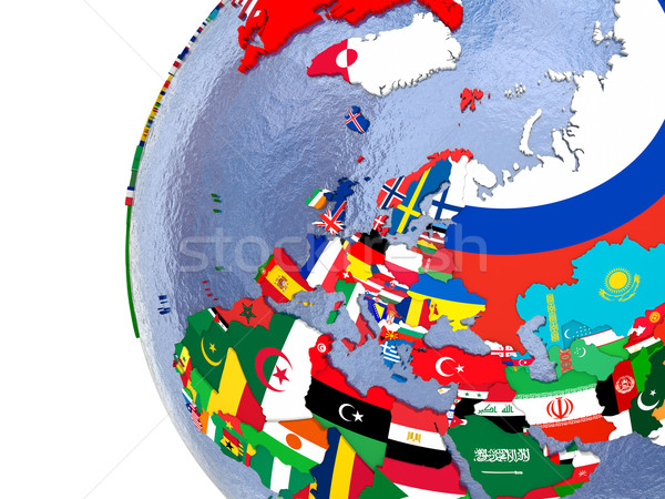 Political Europe map Stock photo © Harlekino